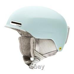 Smith Allure MIPS Womens Ski Snowboard Helmet Medium 55-59 cm Matte Polar Blue