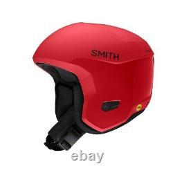 Smith Icon MIPS Ski Race Helmet Adult Medium 55-59 cm Matte Lava plus Bonus New