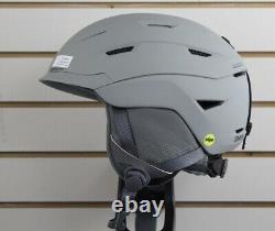 Smith Level MIPS Ski Snowboard Helmet Adult Large 59-63 cm Cloudgrey New
