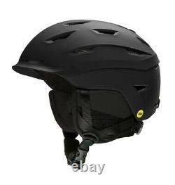 Smith Level MIPS Ski Snowboard Helmet Adult Large 59-63 cm Matte Black New