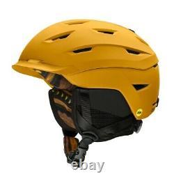 Smith Level MIPS Ski Snowboard Helmet Adult Medium 55-59 cm Amber Textile 2021