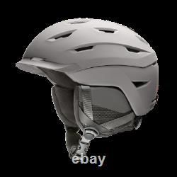 Smith Level Snow Helmet Men's Large / Matte Cloudgrey