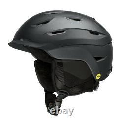 Smith Liberty Womens MIPS Snowboard Helmet Adult Medium 55-59 cm Black Pearl New