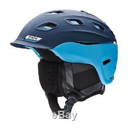 Smith Men's Vantage Snow Ski Helmet Matte Light Blue Navy Small