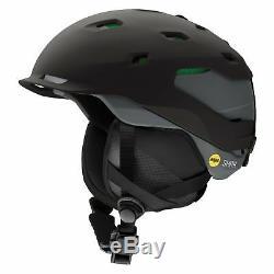 Smith Mens Quantum MIPS Ski Snow Helmet Matte Black Charcoal