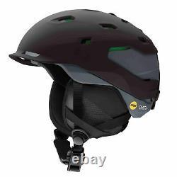 Smith Mens Quantum MIPS Ski Snow Helmet Matte Black Charcoal Medium