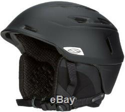 Smith Optics Camber Adult Snow Helmet (Matte Black/Large)