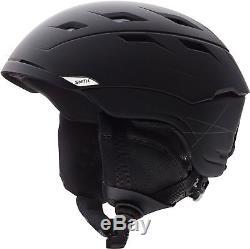 Smith Optics Sequel Adult Ski / Snow Helmet (Matte Black/Large)