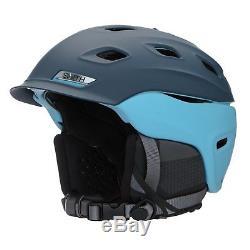 Smith Optics Vantage Adult Ski Snowmobile Helmet Matte Light Blue Navy /
