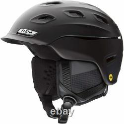 Smith Optics Vantage MIPS Snow Helmet (Extra Large, Matte Black) 2021