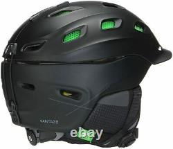 Smith Optics Vantage MIPS Snow Helmet (Large, Matte Black)