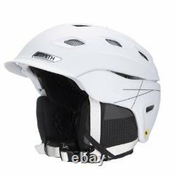 Smith Optics Vantage MIPS Snow Helmet (M, Matte White)