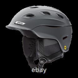 Smith Optics Vantage MIPS Snow Helmet (Medium, Matte Charcoal) 2021