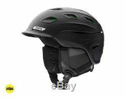 Smith Optics Vantage Snow Sports Helmet MIPS Matte Black, Charcoal, White