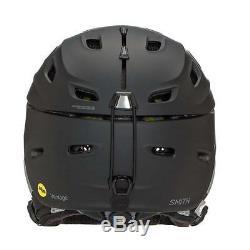 Smith Optics Vantage Womens Mips Ski Snowmobile Helmet Matte Black Small 51-55
