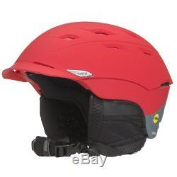 Smith Optics Variance Adult Mips Ski Snowmobile Helmet Matte Fire Split Large