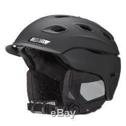 Smith Optics Womens Vantage Ski Snowmobile Helmet L 59-63cm Matte Black
