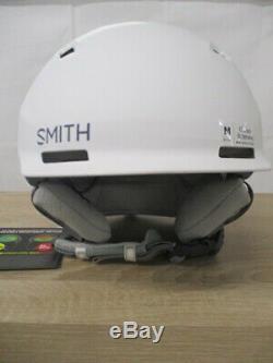 Smith QUANTUM M MIPS Skihelm Matte White Carcoal Gr. M (55-59 cm)