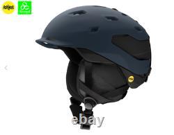 Smith Quantum MIPS Adult Ski Helmet, Size Large, Matte French/ Navy Black