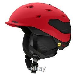 Smith Quantum MIPS Ski Snowboard Helmet Adult Medium 55-59cm Lava Black New 2021