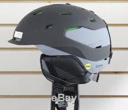 Smith Quantum MIPS Ski Snowboard Helmet Adult XL 63-67 cm Black Charcoal New