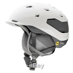 Smith Quantum MIPS Snowboard Helmet Adult Large 59-63cm Matte White Charcoal New