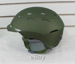 Smith Valence Women's Ski Snowboard Helmet Adult Medium 55-59 cm Pearl Olive New
