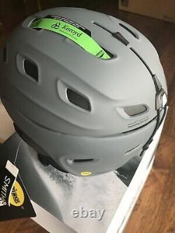Smith Vantage MIPS Helmet Medium Matte Charcoal Ski Snowboard Helmet