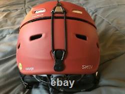 Smith Vantage MIPS Ski Snowboard Helmet Adult M 55-59cm 2017 Adobe Matte NWOT