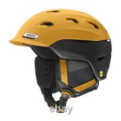 Smith Vantage MIPS Ski/Snowboard Helmet Adult Medium 55-59cm Matte Saffron Black