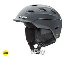 Smith Vantage MIPS Snow Helmet Men's Large, Matte Charcoal