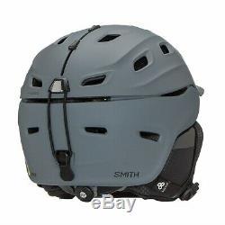 Smith Vantage MIPS Snow Helmet Men's Medium, Matte Charcoal
