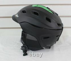 Smith Vantage Ski Snowboard Helmet Adult Small 51-55 cm Matte Black / Black New
