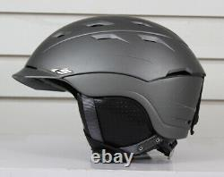 Smith Variance Ski Snowboard Helmet Adult Small 51-55 cm Matte Graphite Gray
