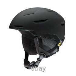 Smith Vida MIPS Snowboard Helmet Adult Womens Medium 55-59 cm Matte Black Pearl