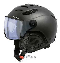 Snowboard Helme ALPINA JUMP JV VHM Helm 2018 charcoal matt Helmet Snowboardhelm