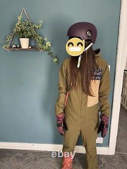 Snowboard/ Ski BURTON One Piece Suit + Helmet + Gloves