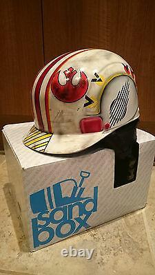 Star Wars Luke Skywalker Battle Worn X-wing Fighter Pilot Ski Snowboard Helmet