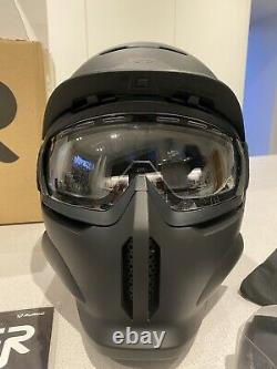 Super 73 Type Ruroc Rg1-dx Core Helmet Goggles And Extra Tinted Xl-xxl New