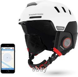 Swagtron Snowtide Bluetooth Ski Snowboard Helmet With Audio SOS Alert Mid-sized