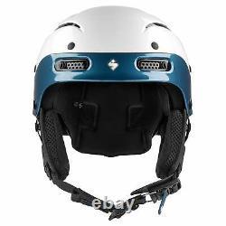 Sweet Protection Sweet Trooper II SL MIPS Helmet Gloss White/Teal Blue