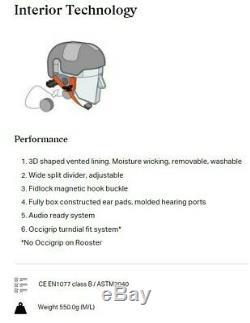 Sweet Protection Switcher Ski Snowboard Helmet L/XL Dirt Black NEW