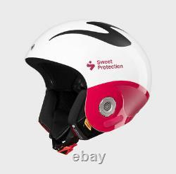 Sweet Protection Volata FIS Ladies Helmet 2020 Gloss White /Rubus Red size XS/S