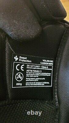 Sweet Protection Volata WC Carbon MIPS Helmet 2020 White/ Black (L/XL)
