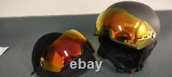 UVEX 500 Ski Snowboard Visor Shield Helmet with Extra Lens L-XL 59-61 cm
