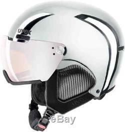 UVEX HLMT 500 VISOR CHROME LTD ski helmet