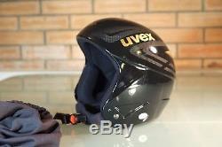 UVEX RACE REAL CARBON FIBER ski helmet