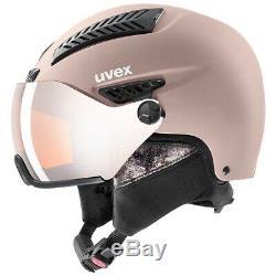 UVEX hlmt 600 visor Damen Skihelm rosa