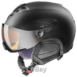 Uvex HLMT 300 visor black mat Skihelm Snowboardhelm Tourenski Helm