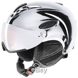 Uvex HLMT 300 visor chrome silver LTD Skihelm Snowboardhelm Tourenski Helm